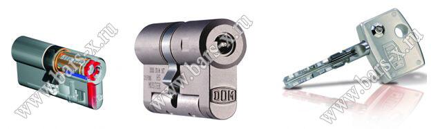Цилиндр Diamant DOM имеют дисковый механизм секретности. Обладают