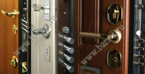 Замена замка в железной двери