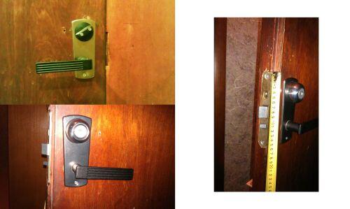 замена замка на аналогичный КЭМЗ ЗВАД 1-01 фото