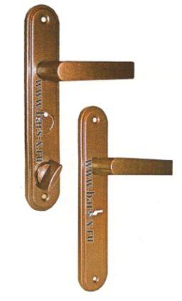НР 0601  Ручки на планке для замков ЗВ9 144.1.0/ЗВ9 144.0.0/ЗВ9 164.0.0