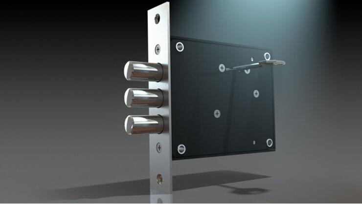 замена замка барьер
