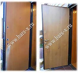замена дверного замка и панели