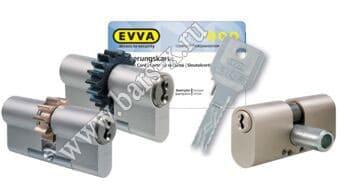 EVVA - замена личинки замка металлической двери