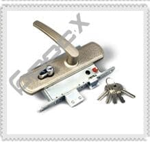ЗВ4-1 замена двеного замка с личинкой металлической двери