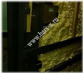 разбор двери для замены замка