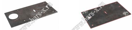 Cisa выпускает 3 мм стальные пластины, защищающие опорную стойку механизма сувальдных замков, как одно системных, так и замков с двумя системами