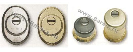 Mottura изготавливает бронирование накладки для защиты европейских цилиндровых механизмов, личинок