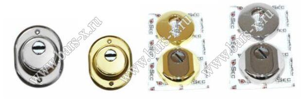 Disec предлагает бронированные закладки как врезного, так и накладного типа