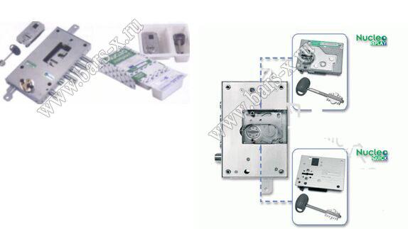 Mottura -Италия - сменные и перекодировочные механизмы