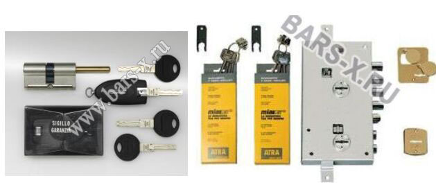 Atra - Италия- сменные ключи- сменный комплект