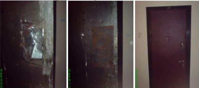 ремонт наружней двери
