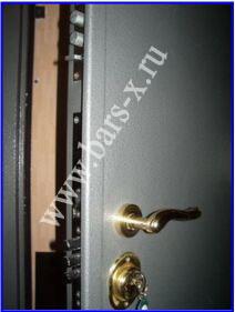 Врезка замка в входную металлическую дверь
