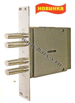 ЗВ8 260.0.1 Замок врезной сувальдный с защитной пластиной повышенной секретности и взломостойкости.