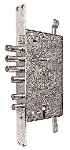 ЗВ13 174.1.1 ко  Замок врезной  с защелкой и задвижкой с двойным механизмом запирания сувальдной и цилиндровой системой