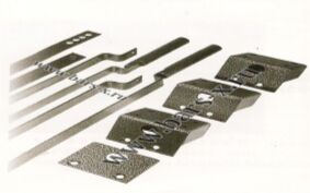 Тяги  для врезных замков устанавливаются к замкам предназначенных для подключения вертикальных приводов.