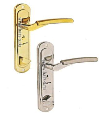 НР 61.0721-S-C   Ручки на планке  для замков ЗВ9 144.1.0/ЗВ9 144.0.0/ЗВ9 164.0.0
