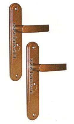 НР 0501   Ручки на планке для замков ЗВ9 901.0.0/ЗВ9 902.0.0