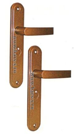 НР 1001  Ручки  на планке для замков ЗВ9 143.1.0/ЗВ9 143.0.0