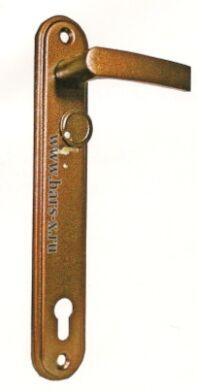 НР 1401   Ручки на планке для замков ЗВ13 173.1.1