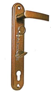 НР 1301   Ручки на планке для замков ЗВ13 174.1.1