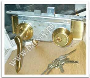 поменять замок в металлической двери выезд мастера москва