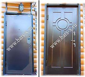 поставить новый замок на металлическую дверь