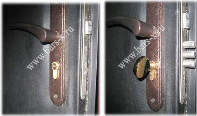 заменить замок в металлической двери в москве