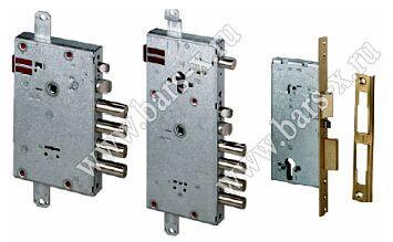 замена замка на входной металлической решетке